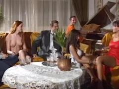 Fantastic explicit swinger gangbang