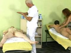 Doctiors and patients in a gangbang