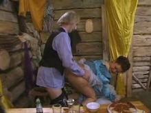 Kinky sex of Russian folks in the remote province