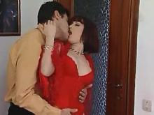 Skilled lover brings cute redhead vixen to ecstasy