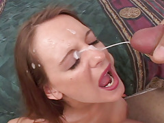 Dark brown With Admirable Tits Blows Dick Well & Gets Creamy Stroke