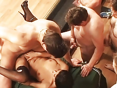 This Slut Gets bonked get pleasure a Whore by 50 men in Gangbang