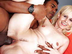 This granny still want a good facial and a largest brown cock!