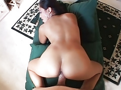 Big breasted asian getting it good in these POV style movie scenes