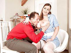 Terry Nova Is Nurse Big Tits
