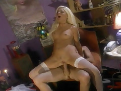 Blonde Sucks Cock & Gets Bonked Really Severe In This Scene