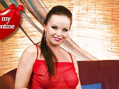 Sexy Silvia Saint Aspires U Lots Of Copulation For Valentine's Day