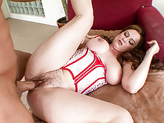 Violet is a naughty woman who loves thick snake to fuck her!