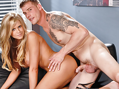 Dacry Tyler receives her bawdy cleft slammed by mega hottie Max Metallic