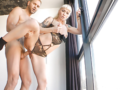 Nacho Vidal takes on a seasoned blonde inked Angelica Queen !