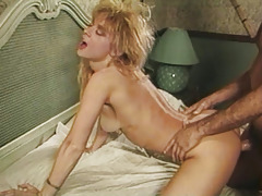 Unpitying Nina Hartley Gets Drilled Hardcore On Couch
