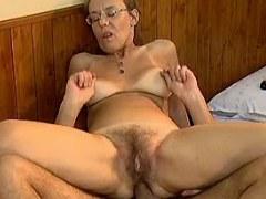 Kinky old woman assfucked