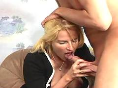 Guys invited mature sluts