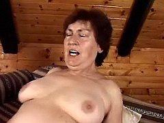 Cheeky granny having sex