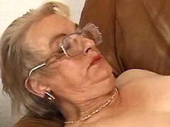 Grandma is hungry for sex