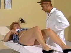Old lady seduces doctor