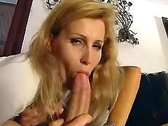 Blond mature gets assfuck