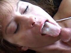 Milf has sex n tastes cum