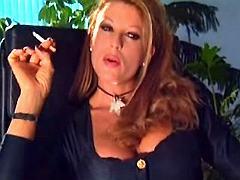 Hot mom sucks big cock