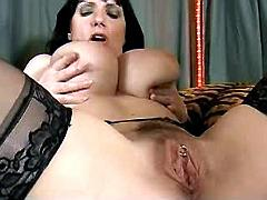 Busty mommy gets horny