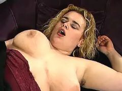 Cute blond BBW gets nastily pounded
