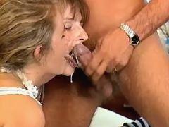 Young preggo and girlfriend get cum