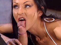 Killer fetish vamp woman fucking submissive dude