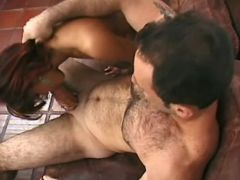Depraved shemale prefers huge cocks