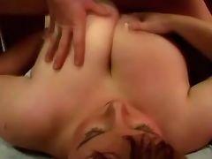 Busty fat girl spoils guy in bed