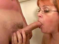 Respectable mature woman fucks hard