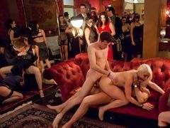 Amazing orgy night in Francisco with swingers