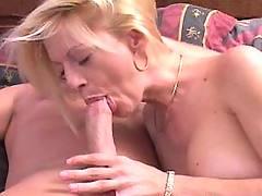 Horny mama sucking