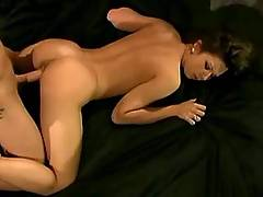 Anal in doggy style