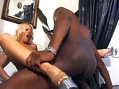 Mighty fuck with black