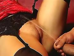Double drill and creampie