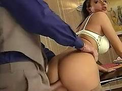 Gorgeous lady anal