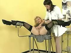 Hot nurse in group sex