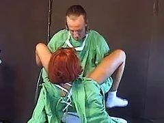 Doc fucks redhead nurse