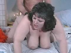 Fat busty brunette fucked