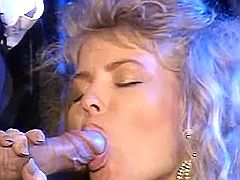 Sex with fantastic blonde