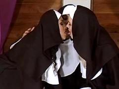 Nice nuns become lesbians
