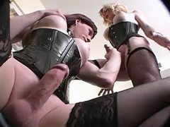 Sexy tgirls gets pleasure